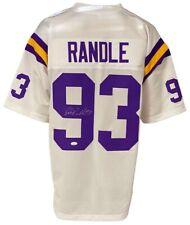 Minnesota Vikings John Randle Autographed Pro Style White Jersey JSA Authenti...