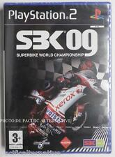 NEUF - jeu SBK 09 superbike 2009 sur playstation 2 sony PS2 moto bike NEW