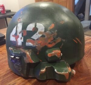 Army Helmet Light Up Battery Operated