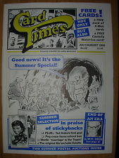 CARD TIMES MAGAZINE FORMERLY CIGARETTE CARD MONTHLY No 69 JULY / AUGUST 1995