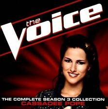The Voice: The Complete Season 3 Collection by Cassadee Pope (CD, Jan-2013, Univ