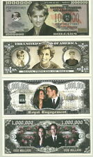 ROYAL WEDDING & PRINCESS DI MILLION $ NOVELTY BILLS!