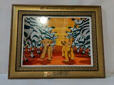 Disney's The Lion King Remember Who You Are Collectible Picture Frame