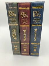 Lord of the Rings Trilogy Special Extended DVD Edition New Line Platinum series