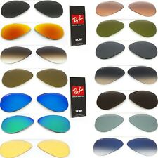 Genuine Replacement lenses Ray Ban aviator 3025 Classic or Polarized sunglasses