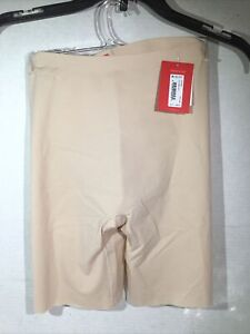 Spanx Womens Thinstincts Mid-Thigh Shorts Soft Nude Size XS ZP-7033