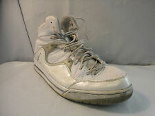 Air Jordan Hoop TR 97 White Silver Gray Basketball Shoes Mens Sz 13 M 428826-104