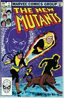 New Mutants #1 (1983 1st Series Marvel Comics) 2nd App of New Mutants