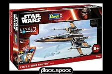 STAR WARS THE FORCE AWAKENS POES X-WING LEVEL 2 MODEL KIT