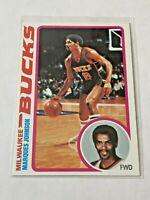 1978-79 Topps Basketball Rookie Card - Marques Johnson RC - Milwaukee Bucks