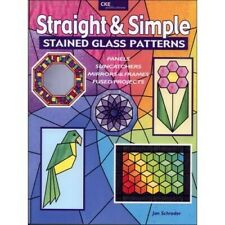 Straight and Simple Stained Glass Patterns