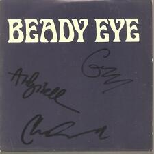 "Beady Eye ""the roller"" 1 Track Promo CD CARDSLEEVE SIGNED"