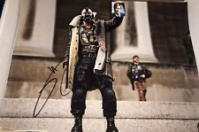 Tom Hardy In The Dark Knight As Bane Signed 11x14 Photo COA Proof Movie Still