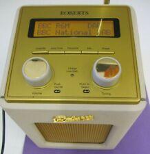 ROBERTS REVIVAL MINI DAB/FM DIGITAL RADIO GOLD/CREAM COLOUR