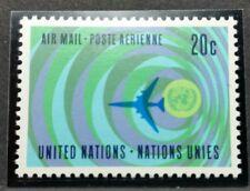 1968 ONU UN POSTA AEREA MNH** RF01
