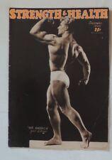 vintage bodybuilding magazine - Strength & Health - 1949 - TTBE