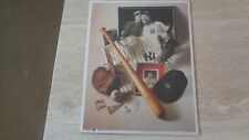 "1993 Lou Gehrig ""Iron Horse"" UNOPENED Commemorative Print #6 - New York Yankees"