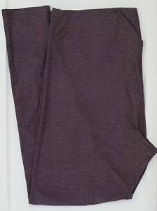 TC LuLaRoe Tall & Curvy Leggings Heathered Solid Gray & Purple NWT 53