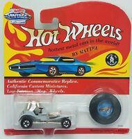 Hot Wheels Vintage 1993 Collection Red Baron Gray Car Commemorative Replica