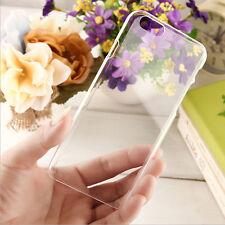 """Tasche Schutzhüllen Etui Schutz Hülle für iPhone 6 4.7"""" Handy transparent"""