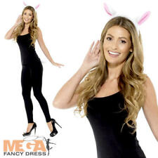 Adult Lamb Kit Ladies Fancy Dress Ears Tail Sheep Set Animal Costume Accessory