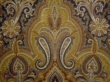 P Kaufmann Paisley CHESTNUT Brown Cotton Home Decor Drapery Upholstery Fabric