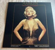 1987  Marilyn Monroe Calendar 25th Commemorative Edition Ken Galante N