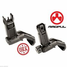 New Magpul MBUS PRO Offset SET 45-Degree Front & Rear Folding Steel Iron Sights