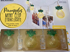NIB Pineapple Mini Clip String Lights