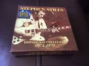 STEPHEN STILLS BROADCAST COLLECTION 1973-1979 BOX SET 6 CDS NEW AND SEALED