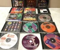 Vintage 1990s PC Fighting And Adventure PC Games  Rare Games All Fully Tested