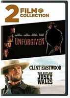 2 FIlm Collection: Unforgiven / The Outlaw Josey Wales (DVD, 2018)