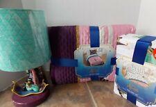 Aladdin Twin Quilt + Sham + Sheet & Lamp Set ~ NEW Jasmine
