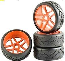 1/8 Buggy Wheels 17mm Hex fitting. HPI Kyosho XTM Hobao Set of four. UK Seller