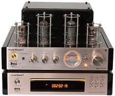 AMPLIFICATEUR STEREO A LAMPES TUBES VINTAGE  MAD-TA10-BT USB BT + LECTEUR CD FM