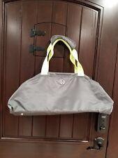 Lululemon Duffel Gym Bag Yoga Bag Gray