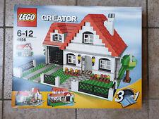Lego 4956 - 3 In 1 House Complete Set With Box - Maison 3 En 1 Complète + Boîte