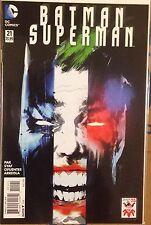 DC New 52 Batman / Superman #21 Joker 75th Variant! NM Or Better! Jock