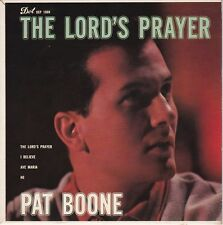 """Pat Boone """"The Lord's Prayer"""" 1958 Dot EP 1068 """"I Believe"""" """"Ave Maria"""" """"He"""" NM"""