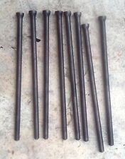 DATSUN NISSAN SD25 DIESEL 2,5cc PUSH RODS SET (8 PUSH RODS) USED
