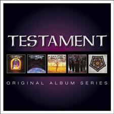 TESTAMENT - ORIGINAL ALBUM SERIES [SLIPCASE] NEW CD