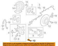 VW VOLKSWAGEN OEM 15-18 GTI Brake-Rear-Mount Bolt N91168901