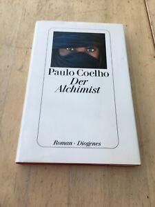 Der Alchemist von Paulo Coelho, Gebundene Ausgabe 1996, Diogenes