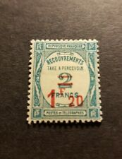 FRANCE TIMBRE N°64 TYPE TIMBRE TAXE NEUF * MH 1927 COTE 50€
