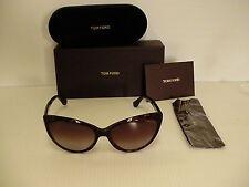 Authentic women's Tom Ford Sunglasses cat eye TF 231 tortoise 52F MARTINA