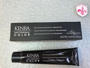 Kenra Demi Permanent Coloring Cream 10G 2.05oz Color  Extra Light Blonde Gold