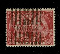 Canada Scott # 61 Queen Victoria Jubilee  used CV $700 ship to Canada, USA
