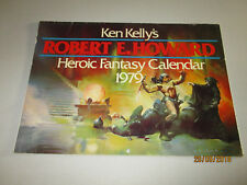 Calendario - 1979-robert e. howard Fantasy