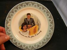 Vintage President John F. Kennedy Plate