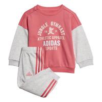 adidas Girls Tracksuit Set Athletic Sports Logo Jogger Training Baby